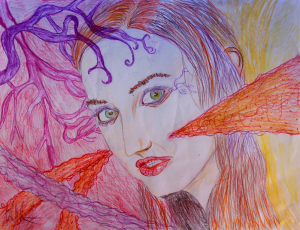 Title: Colorful Dreams DinA3 Colored Pencils and Pastel 2013
